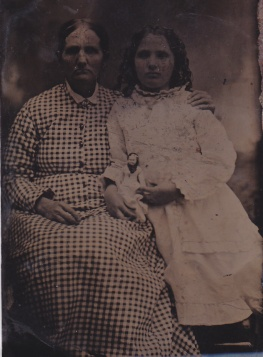 Ellen Cherry & Nancy Aiken Cherry - Tintype